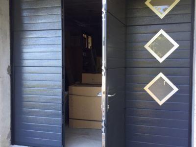 Portail de Garage en aluminium