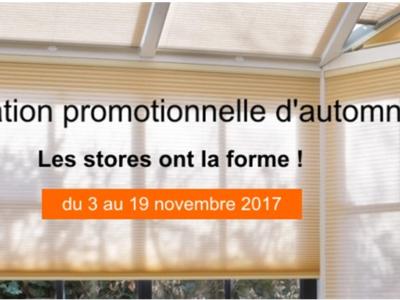 Offre Promo d'automne