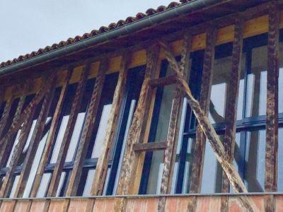 Rénovation d'une gersoise du sud