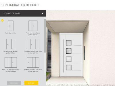 Nouvel outil : Configurateur de porte