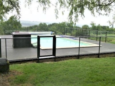 Barrière de piscine aluminium