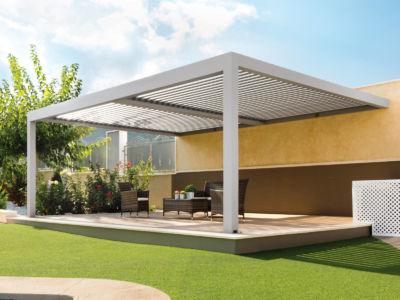 Installez une belle pergola bioclimatique avec Cunha et Castera