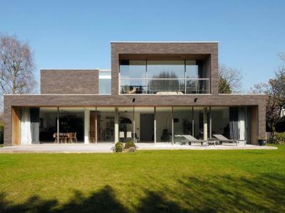 Une superbe villa à Wasquehal avec des baies coulissantes Technal