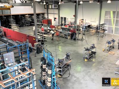 Notre atelier de menuiserie aluminium