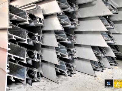 Un portail tout en aluminium