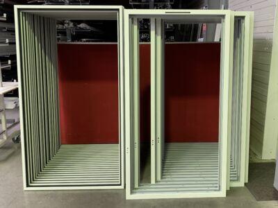 Des fenêtres Technal sortent de notre atelier