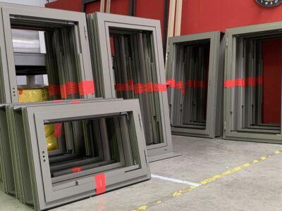 La fabrication et la pose de fenêtres pour un particulier